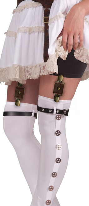 Steampunk Garters With Buckles