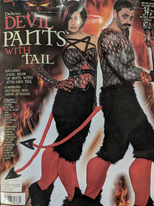 Deluxe Devil or Demon Pants with Hooves