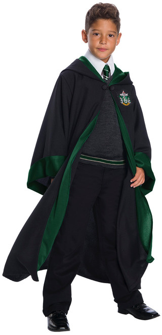 Slytherin Child Robe Deluxe LG (ALT)