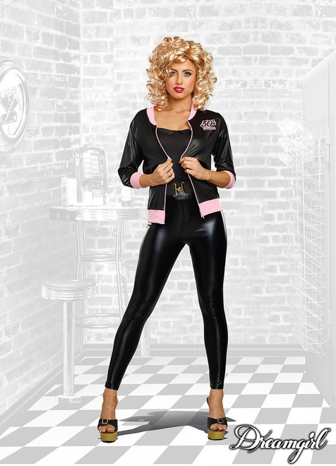Sexy Black 50's Forever Costume