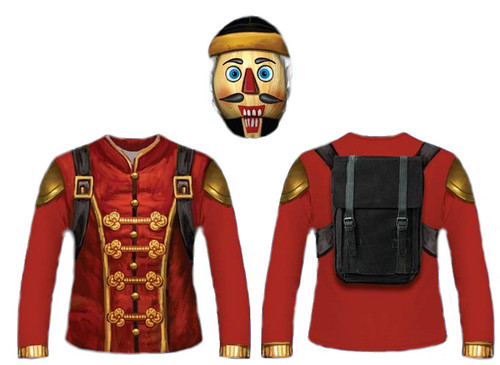 The Nut Job, Battle Royale Style Nutcracker Costume Kit