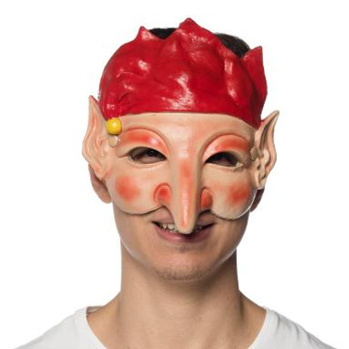 Supersoft Santa's Elf Helper Mask