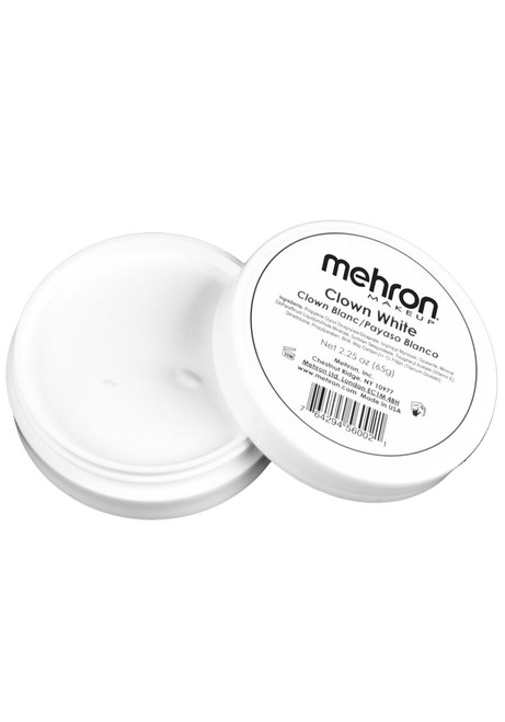 Mehron Clown White Makeup 2.25oz