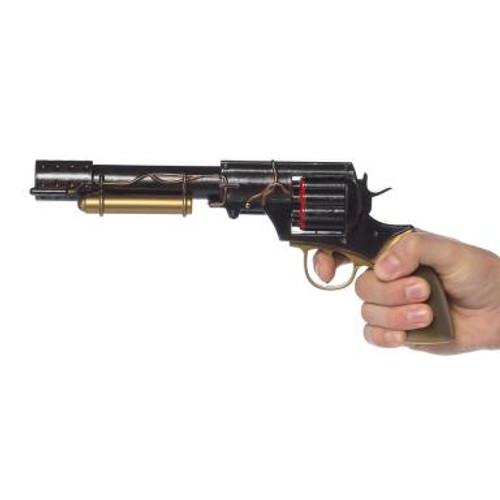 Steampunk Revolver Pistol Prop Weapon