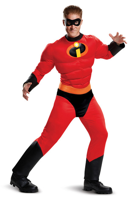 Mr. Incredible, The Incredibles Officially Licensed Muscle Costume