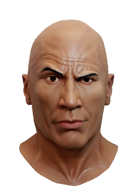 World Wrestling Entertainment - The Rock Latex Mask