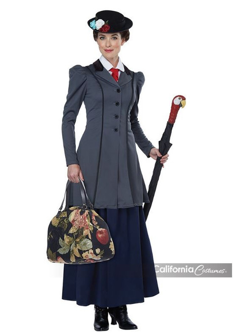 Womens English Nanny Musical Costume