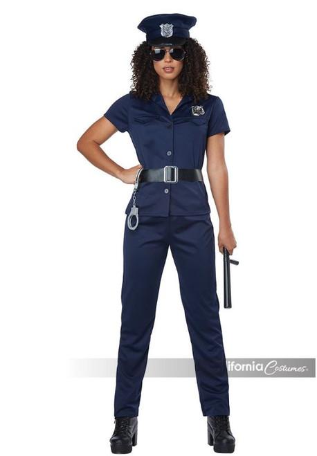 Womens Police Officer Uniform Costume