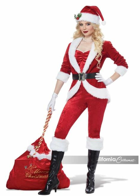 Sexy Sassy Santa Costume