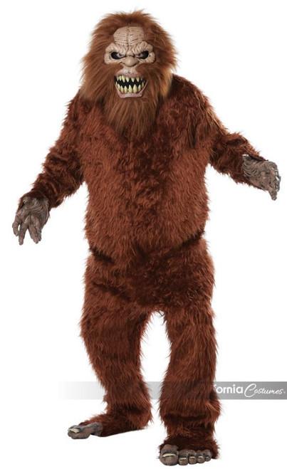 Sasquatch Big Foot Mascot Costume