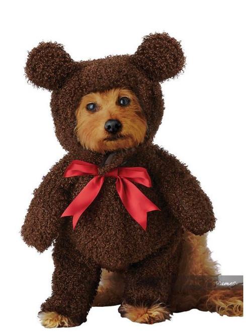 Fuzzy Teddy Bear Dog Costume