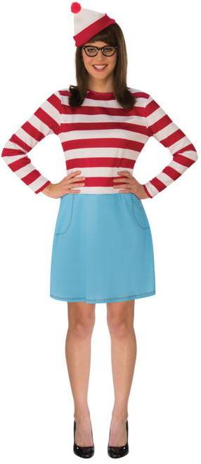 Wenda Where's Waldo Licensed Costume