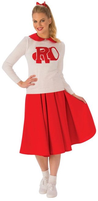 Rydell High Cheerleader Grease Costume