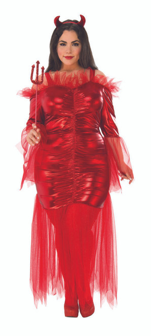Sultry Red Devil Plus Size Costume