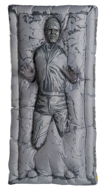 Adult Star Wars Inflatable Han Solo Frozen In Carbonite Costume