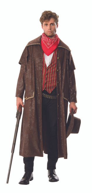 Old West Cowboy and Duster Coat Costume