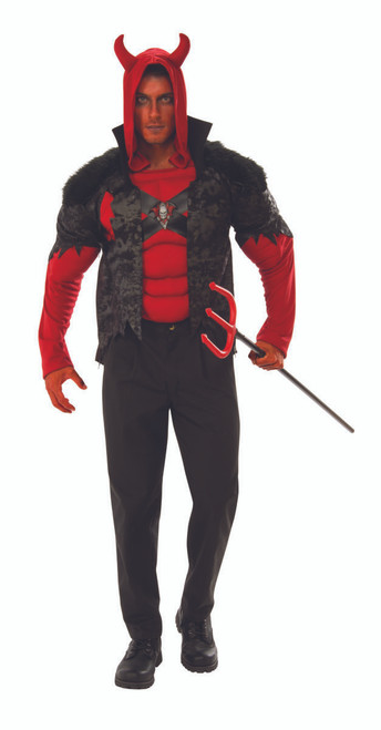 Devil Muscle Chest Costume
