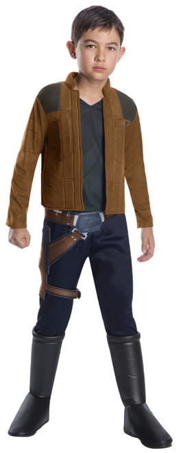 Kids Deluxe Licensed Solo: A Star Wars Story Han Solo Costume