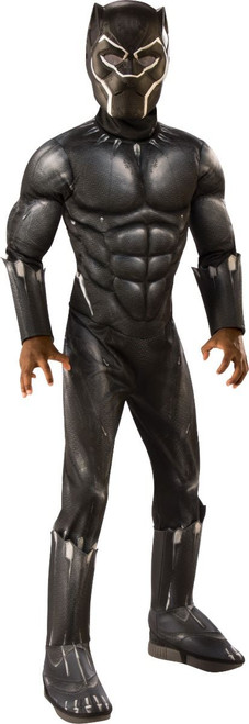 Child Black Panther Licensed Deluxe Costume
