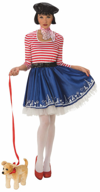 Girls French Mademoiselle Costume