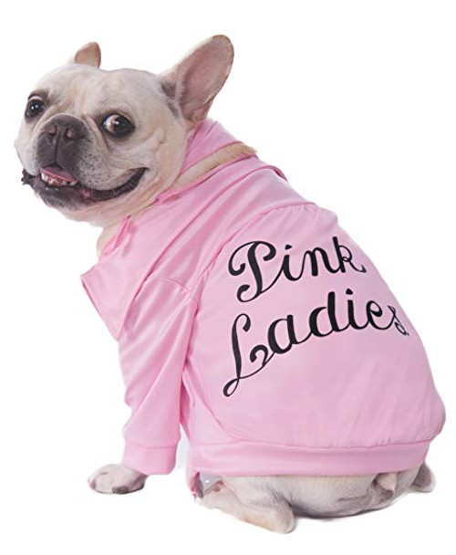 Pink Lady Grease Pet Costume
