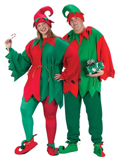 Plus Size Holly Jolly Elf Set