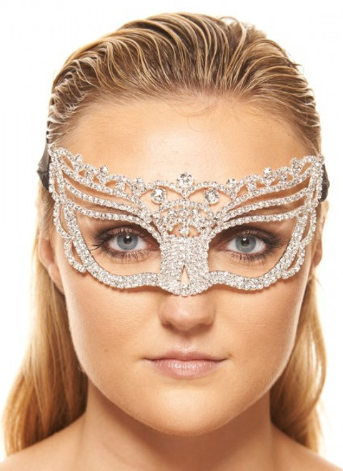 Premium Fairy Clear Crystal Mask