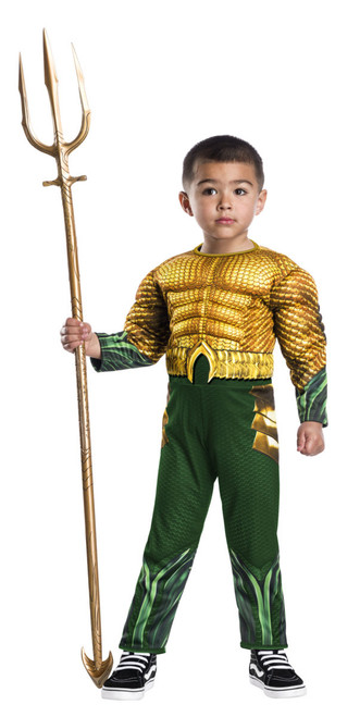 Toddler Aquaman Movie Costume