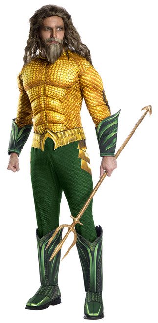 Adult Deluxe Aquaman Movie Costume