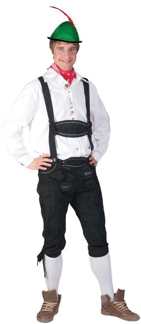 Oktoberfest Tyrolean White Shirt
