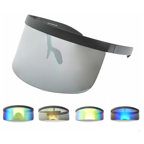 Reflective Revo Large Shield Glasses