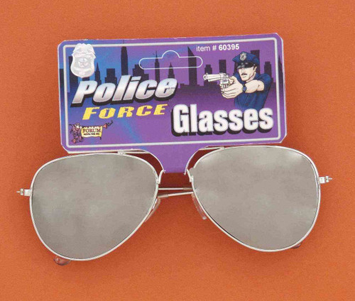 Standard Mirror Aviator Police Glasses