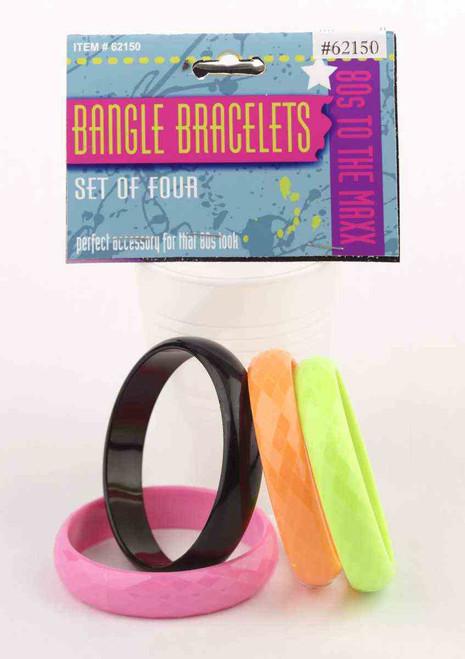 Chunky Colourful Bangle Bracelets