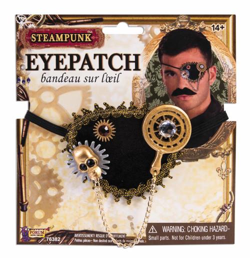 Skull & Gear Steampunk Eyepatch