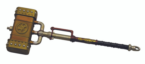Brass Gear Steampunk Mallet