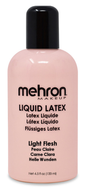 Mehron Light Flesh Liquid Latex 4.5oz