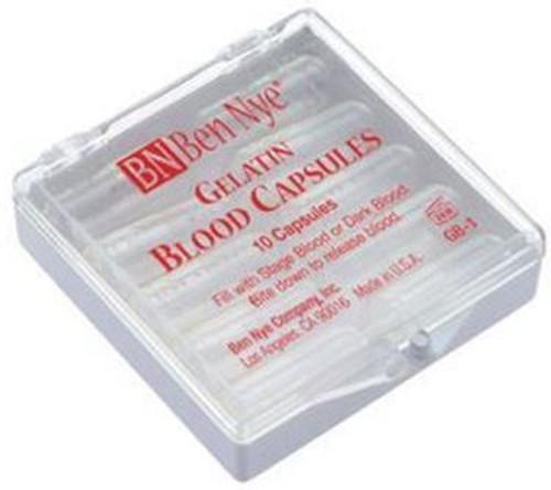 Ben Nye Gel Blood Capsules - 10 Caps