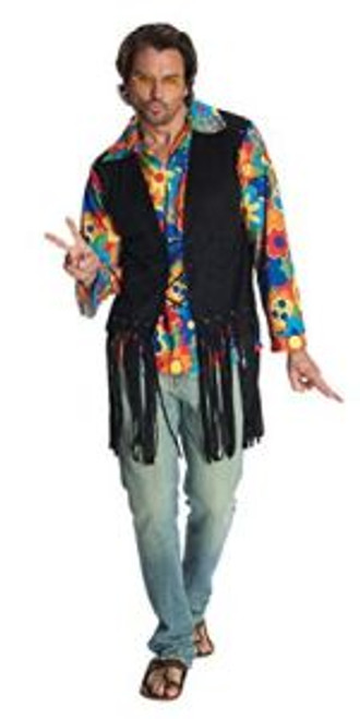 Adult Flower Power Hippie Festival Costume