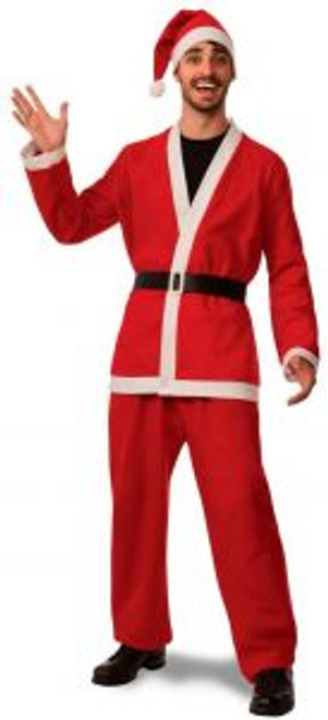 Promo Flannel Santa Suit Costume Extra Large