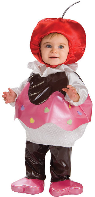 Toddler's Adorably Sweet Cupcake Costume