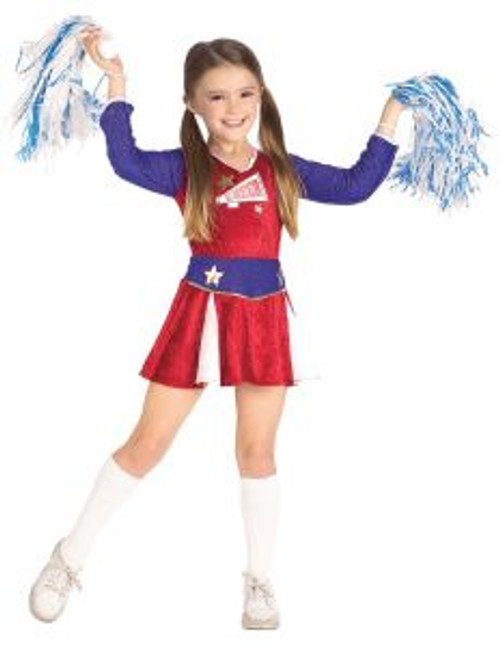 Children's Classic Cheerleader Uniform Costume