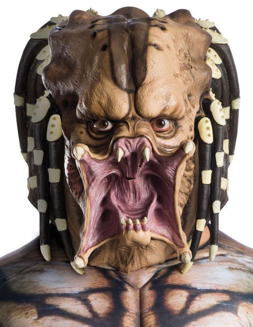 Latex Adult Predator Costume Mask