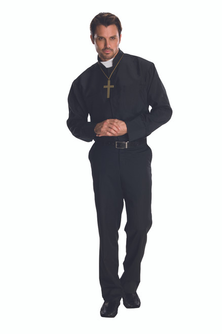 Classic Priest Costume Shirt