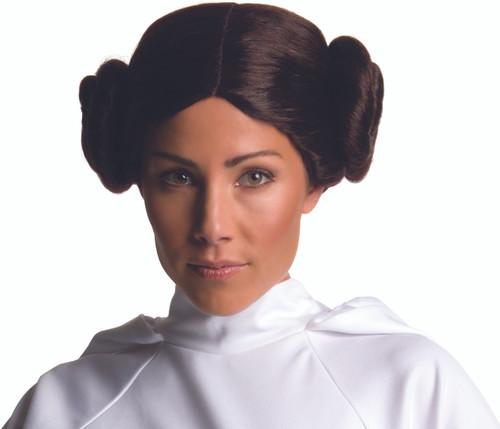 Princess Leia Buns Costume Wig
