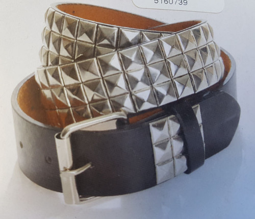 Edgy Studded Punk Belt