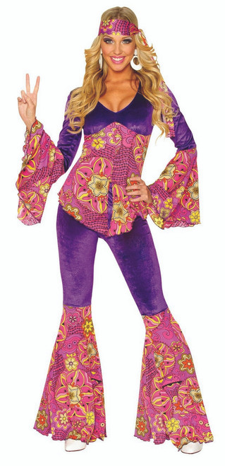 70s Purple Power Costume