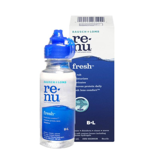 Renu Fresh Contact Lens Solution 60 ML
