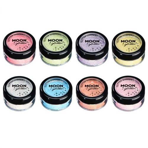 Moon Glow Pastel UV Glitter - 8 Colours!