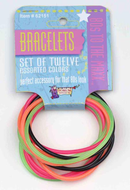 80s 12 Piece Bracelet