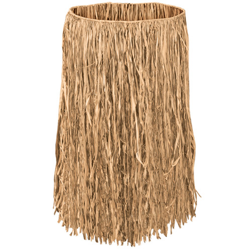 "Hawaiian Grass Raffia 28"" Skirt"